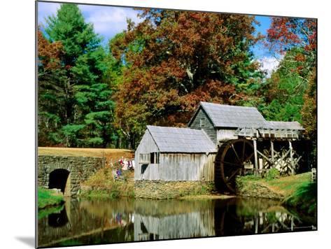 Mabry Mill Near Meadows of Dan-Dennis Johnson-Mounted Photographic Print