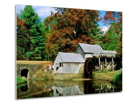 Mabry Mill Near Meadows of Dan-Dennis Johnson-Metal Print