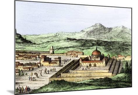 Incan Temple of the Sun in Cuzco, Peru, 1500s--Mounted Giclee Print