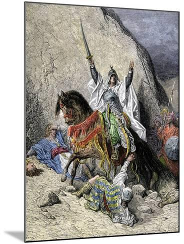 Saladin, Commander of Muslim Forces Against the Crusaders--Mounted Giclee Print