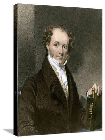 President Martin Van Buren--Stretched Canvas Print