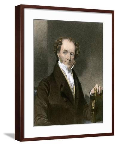 President Martin Van Buren--Framed Art Print
