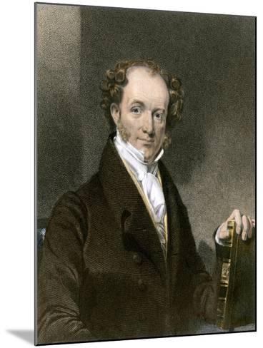 President Martin Van Buren--Mounted Giclee Print