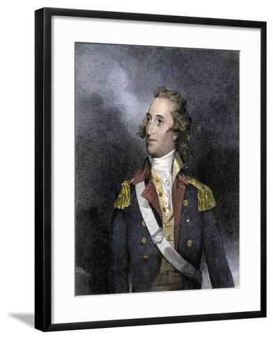 American General Thomas Pinckney, Revolutionary War--Framed Art Print