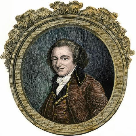 Thomas Paine--Stretched Canvas Print