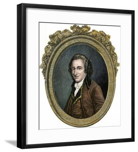 Thomas Paine--Framed Art Print
