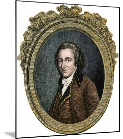 Thomas Paine--Mounted Giclee Print
