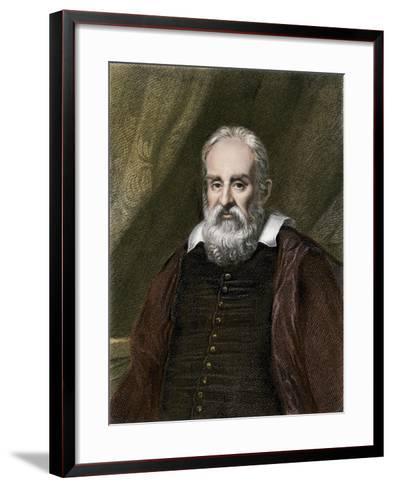 Galileo Galilei, Astronomer--Framed Art Print