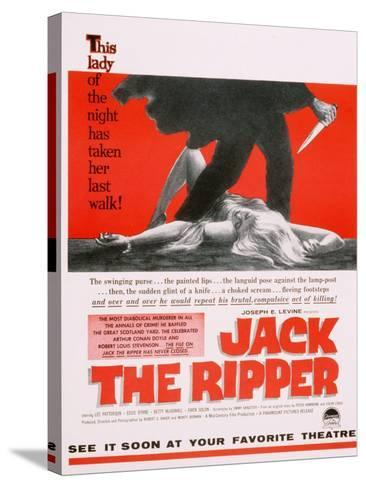 Jack the Ripper, Movie Poster, USA, 1959--Stretched Canvas Print