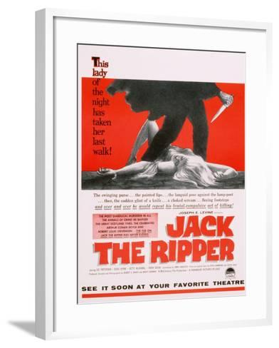 Jack the Ripper, Movie Poster, USA, 1959--Framed Art Print