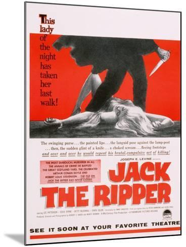 Jack the Ripper, Movie Poster, USA, 1959--Mounted Giclee Print