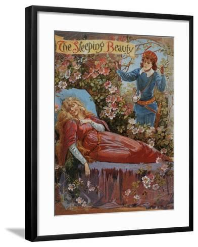 The Sleeping Beauty, Fairy Tales Children's Books Pantomimes Posters, UK, 1910--Framed Art Print