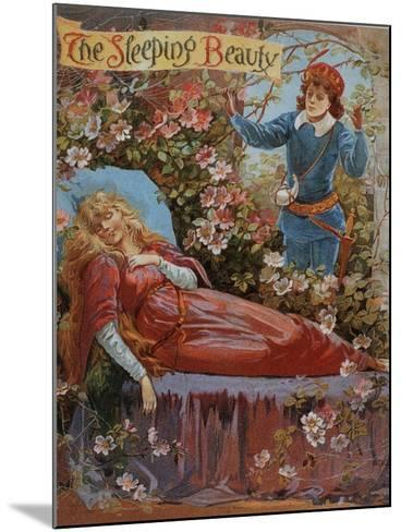 The Sleeping Beauty, Fairy Tales Children's Books Pantomimes Posters, UK, 1910--Mounted Giclee Print