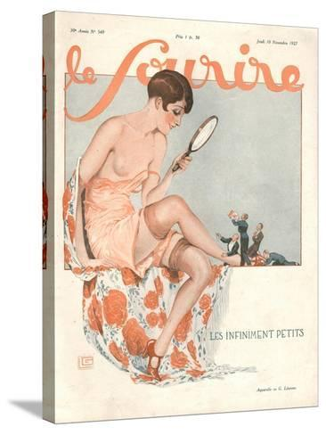 Le Sourire, Glamour Erotica, Love Suitors Magazine, France, 1927--Stretched Canvas Print