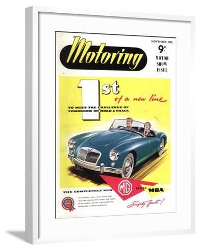MG Convertibles, UK, 1950--Framed Art Print
