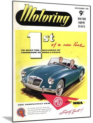 MG Convertibles, UK, 1950--Mounted Giclee Print