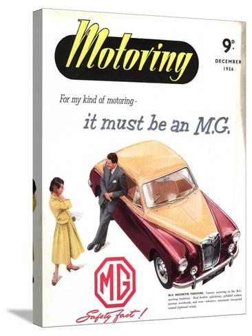 MG Cars, UK, 1950--Stretched Canvas Print
