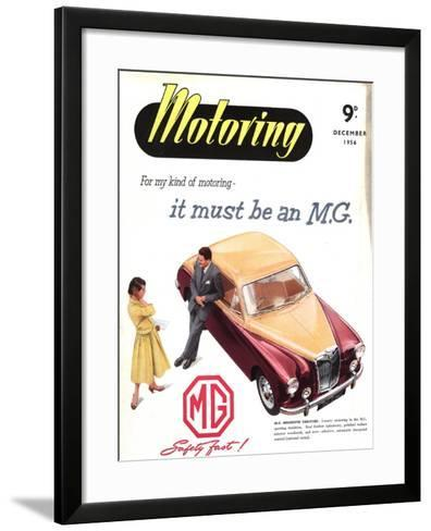 MG Cars, UK, 1950--Framed Art Print