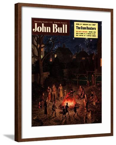 John Bull, Guy Fawkes Fireworks Bonfires Magazine, UK, 1951--Framed Art Print
