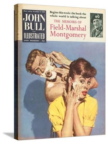 John Bull, Bathrooms Magazine, UK, 1958--Stretched Canvas Print