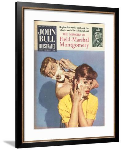 John Bull, Bathrooms Magazine, UK, 1958--Framed Art Print