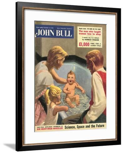 John Bull, Babies Baths Bathrooms Magazine, UK, 1950--Framed Art Print