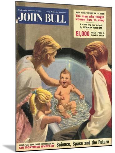 John Bull, Babies Baths Bathrooms Magazine, UK, 1950--Mounted Giclee Print