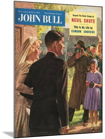 John Bull, Wedding Magazine, UK, 1950--Mounted Giclee Print