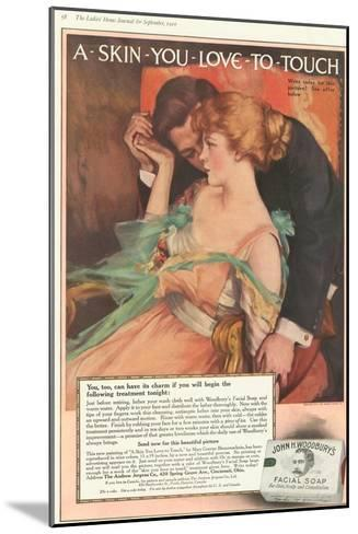 John Woodbury's, Expressions Love Woodbury's Smell Soap Hugging Aroma, USA, 1910--Mounted Giclee Print