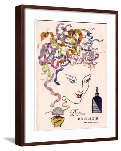 Bourjois Mais Oui, Womens, USA, 1930--Framed Art Print