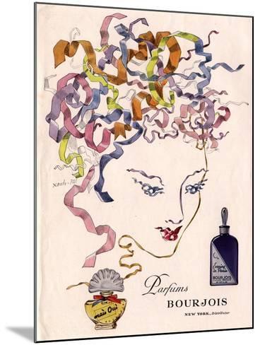 Bourjois Mais Oui, Womens, USA, 1930--Mounted Giclee Print