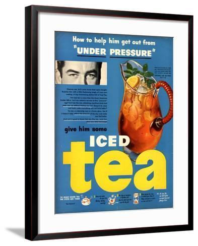 Iced Tea, USA, 1950--Framed Art Print