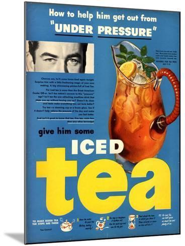Iced Tea, USA, 1950--Mounted Giclee Print