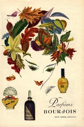 Bourjois, Womens, USA, 1940--Stretched Canvas Print