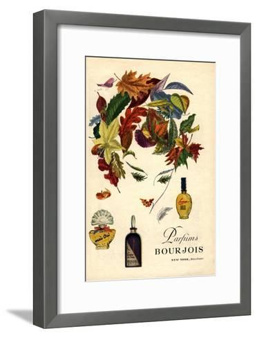 Bourjois, Womens, USA, 1940--Framed Art Print