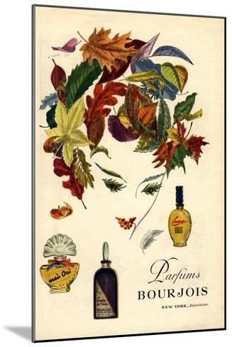 Bourjois, Womens, USA, 1940--Mounted Giclee Print