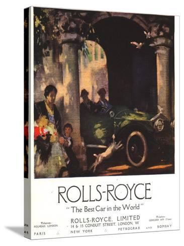 Rolls-Royce, Cars, UK, 1917--Stretched Canvas Print