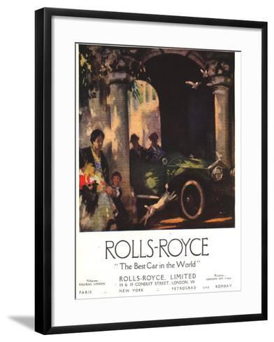 Rolls-Royce, Cars, UK, 1917--Framed Art Print