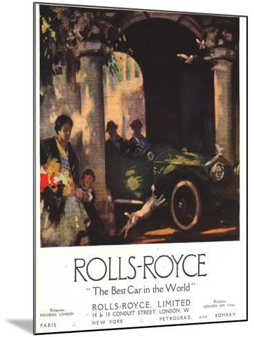 Rolls-Royce, Cars, UK, 1917--Mounted Giclee Print