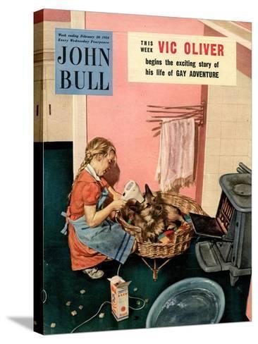 John Bull, Dogs Magazine, UK, 1954--Stretched Canvas Print