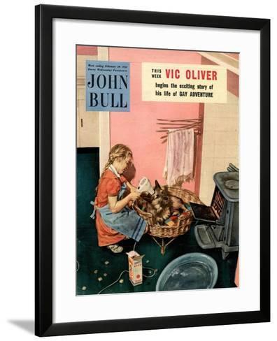 John Bull, Dogs Magazine, UK, 1954--Framed Art Print