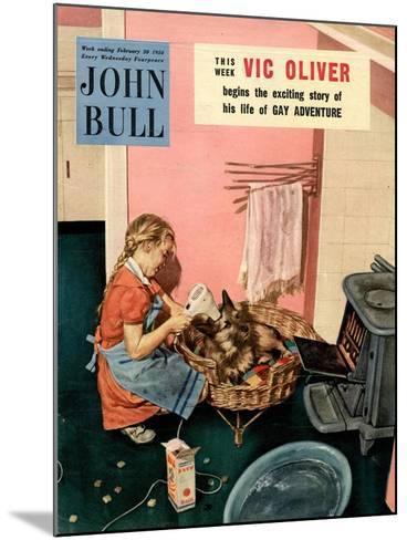 John Bull, Dogs Magazine, UK, 1954--Mounted Giclee Print