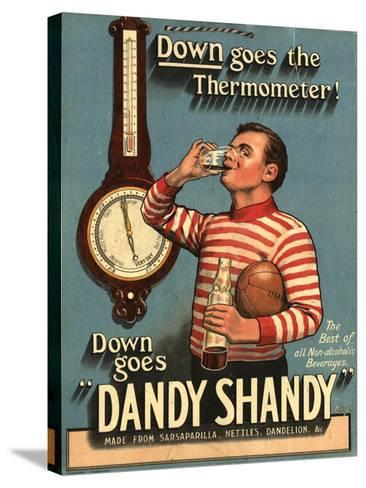 Dandy Shandy Sarsaparilla Rugby Weather, UK, 1920--Stretched Canvas Print