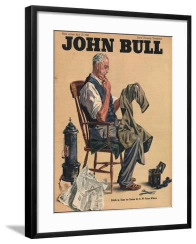 John Bull, Tailors Alterations Magazine, UK, 1946--Framed Art Print