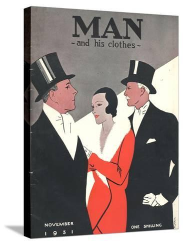 Man and his clothes, Mens Magazine, UK, 1931--Stretched Canvas Print