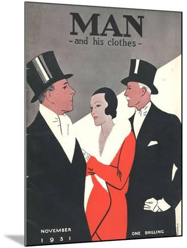 Man and his clothes, Mens Magazine, UK, 1931--Mounted Giclee Print