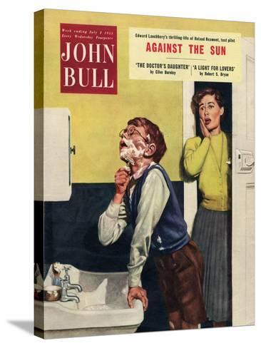 John Bull, Mothers and Sons Bathrooms Magazine, UK, 1955--Stretched Canvas Print