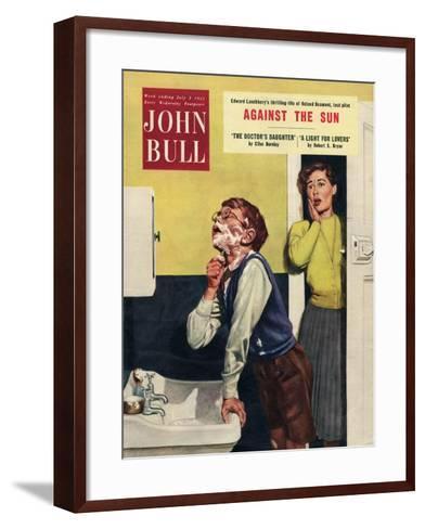 John Bull, Mothers and Sons Bathrooms Magazine, UK, 1955--Framed Art Print