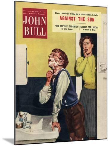 John Bull, Mothers and Sons Bathrooms Magazine, UK, 1955--Mounted Giclee Print