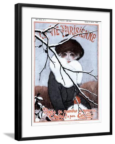 La Vie Parisienne, Glamour Magazine, France, 1920--Framed Art Print